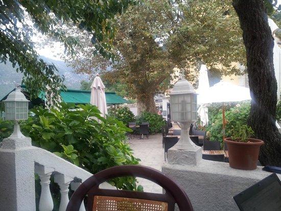 U Campanile : View of the terrace/garden