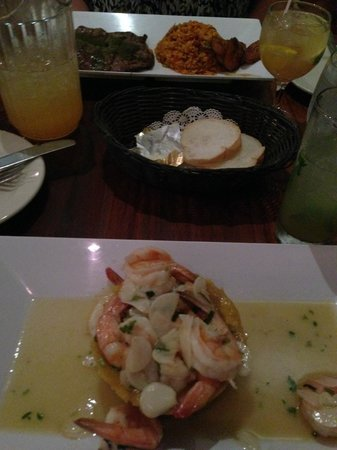Ropa Vieja Grill : Mofongo w/ shrimp