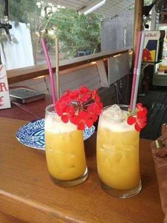 Krios Lounge : cocktails - barman's own recipe! :)