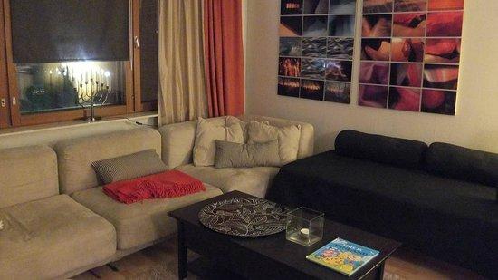 Augusta apartments: リビング