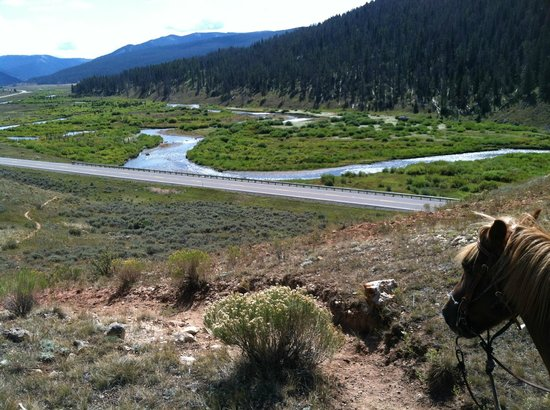 Covered Wagon Ranch: Looking towards Yellowstone