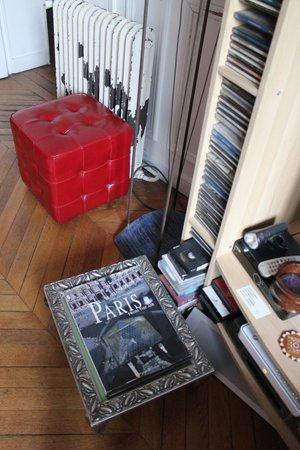 Domingo Rooms de Paris: Living room