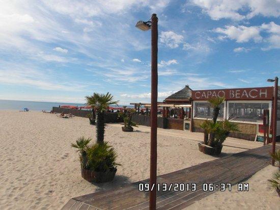 Hotel Capao: Beach and Restaurant