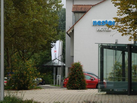 Nestor Hotel Neckarsulm: View from the Choclolate Cafe