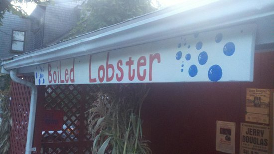 The Lobster Pool: Sign #2