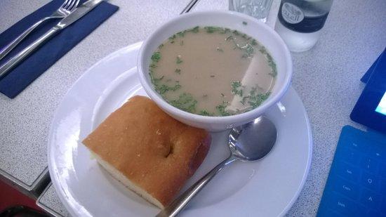 Carluccio's: mushroom soup