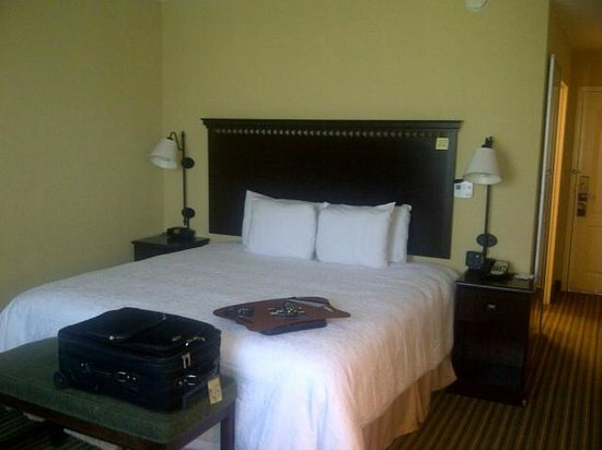Hampton Inn & Suites National Harbor/Alexandria Area: Comfortable and smaller room