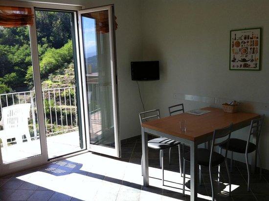 Residence Olivium: Livingroom/breakfast/kitchen