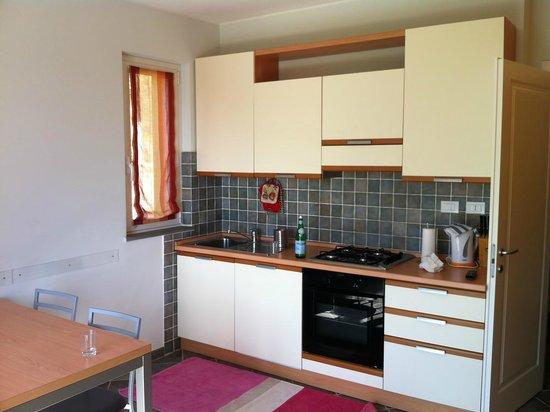 Residence Olivium: The kitchen