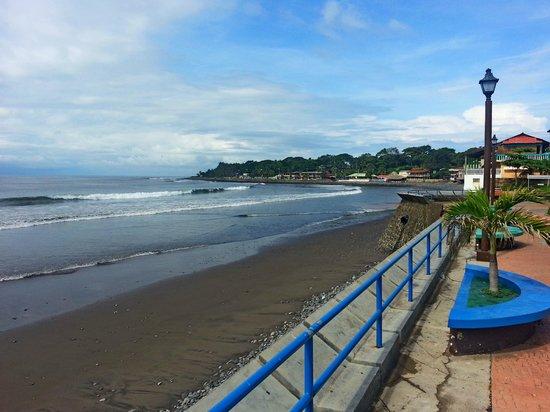 La Libertad, El Salvador: Набережная