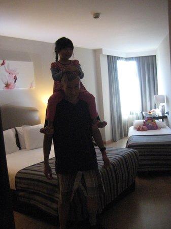 Hotel Exe Moncloa: Chambre triple
