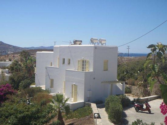 Akrotiri Hotel: Une partie de l'hotel