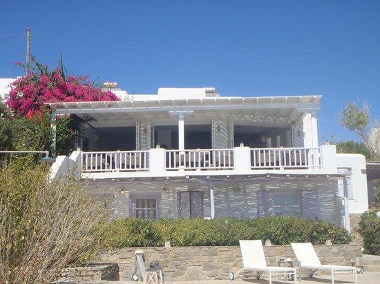 Akrotiri Hotel : La partie réception