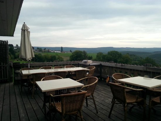 7 Hills Lodge: The terrace