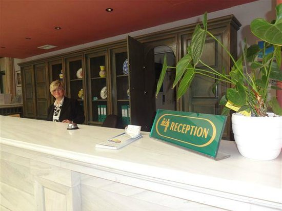 Samaina Inn Hotel : RECEPTION
