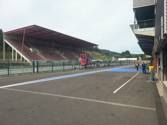 Circuit de Spa-Francorchamps : The start