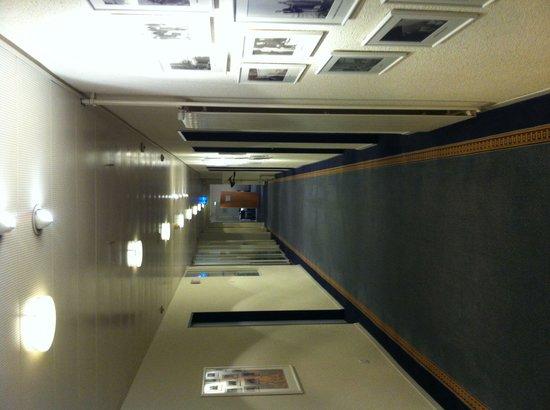 Hotel Bristol : Il corridoio