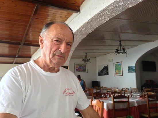 Adolfo Scotto di Luzio Private Driver: the very friendly owner of da costantino