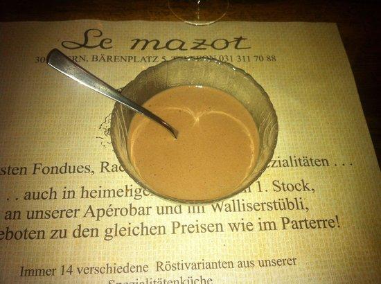 Le Mazot: La Mousse di Cioccolato