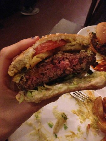 Sporvejen : Burger cooked to my preference