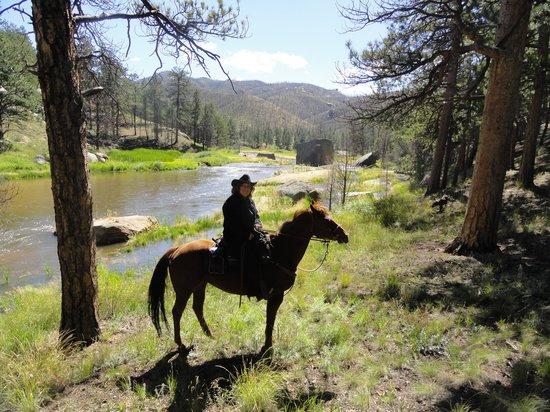 Lost Valley Ranch : my horse Nina (2013)