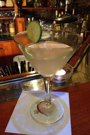 Zapa Bar : Cucumber Martini yummy