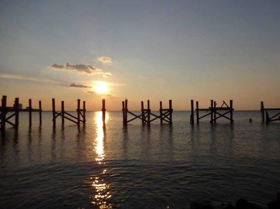 Lake Pontchartrain: the old pier