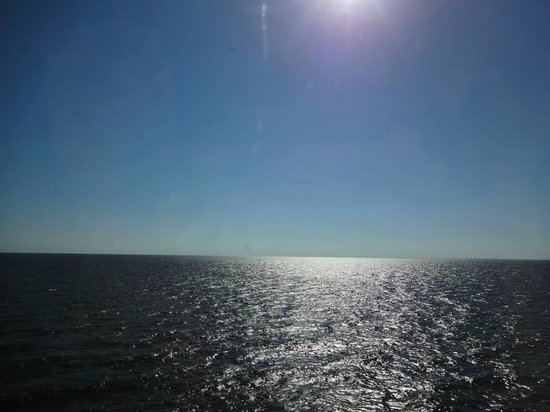 Lake Pontchartrain: nothing but water as far as you can see