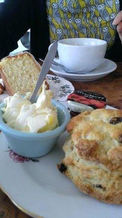 B.O.A Teapot: Cream tea and lush LEmon drizzle cake