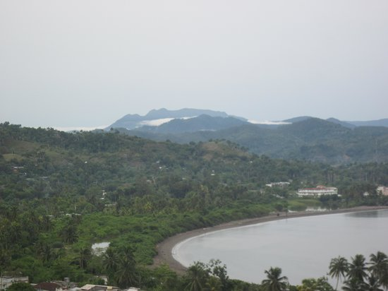 Hotel El Castillo: vue sur la montagne
