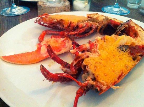 Jellyfish: Lobster Menu - July 2013