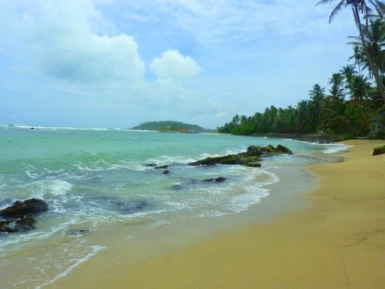 The Spice House, Mirissa: Beach