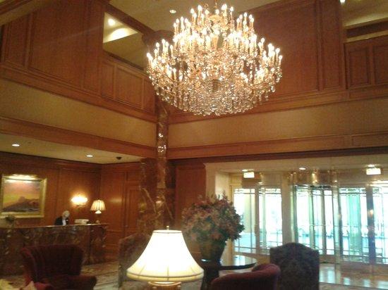 Little America Hotel: Inside Hotel Reception
