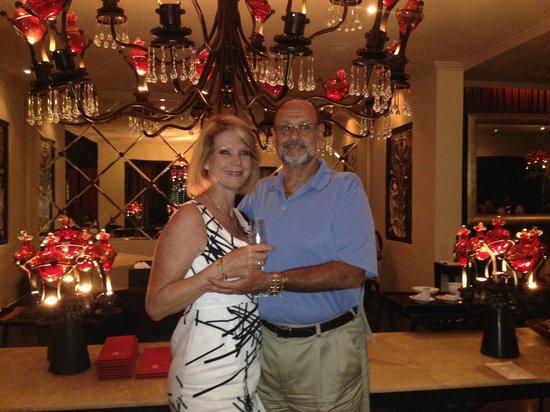 Passion by Martin Berasategui at Paradisus Palma Real: Anniversary dinner at Passion