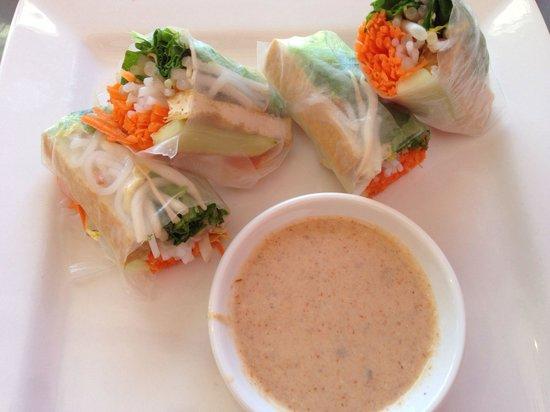 Cafe de Pho-Thai: Spring rolls