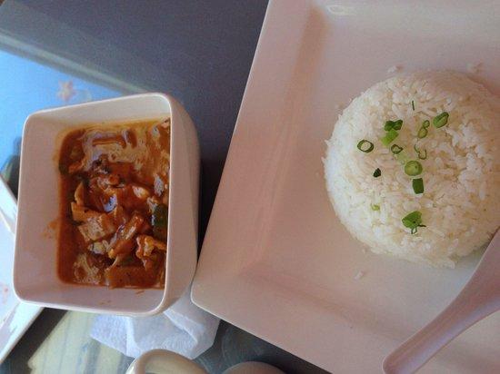 Cafe de Pho-Thai : Red curry