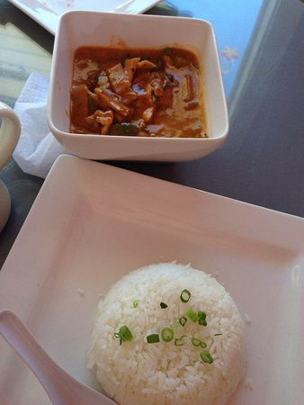 Cafe de Pho-Thai: Red curry