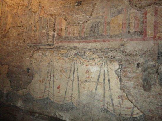Basilica di San Crisogono: Early fresco