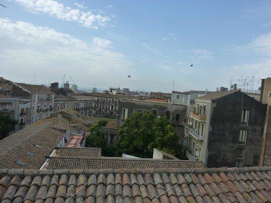 Hotel Biscari : vista dalla terrazza panoramica