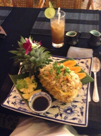Champey Restaurant: Superb fried rice special.