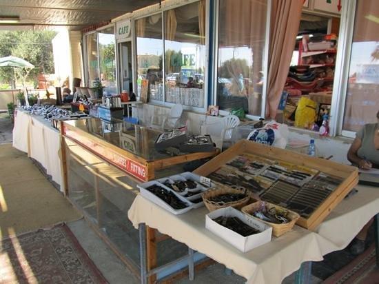 Duck Pond Market: Watches, Sun Glasses.
