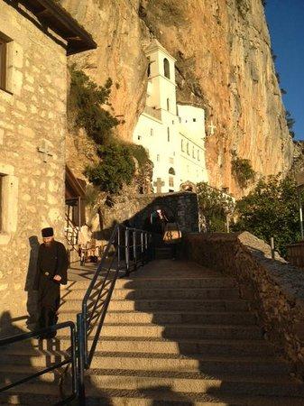 Niksic, Montenegro: Monastery Ostrog