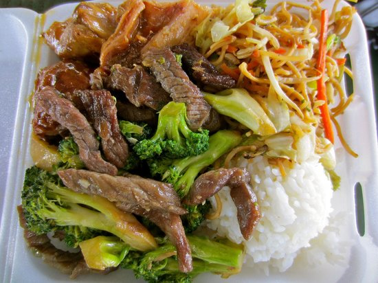 Baked manapua picture of wong 39 s restaurant hanapepe for Asian cuisine kauai