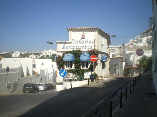 Restaurante Dom Carlos: View of Dom Carlos