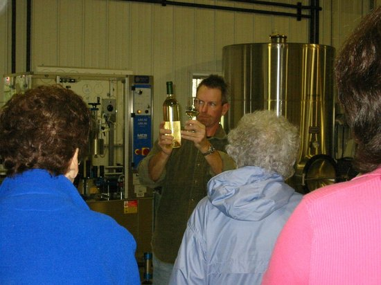Botham Vineyards & Winery: Barneveld, Botham Winery, Tour (2003)