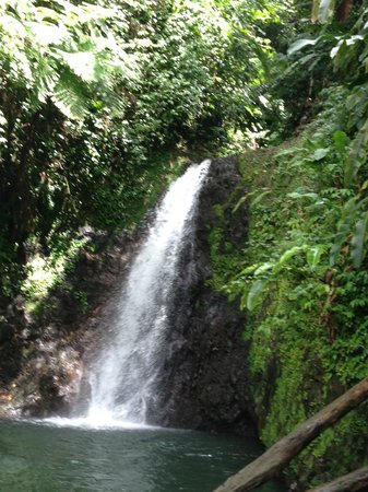 Laluna Hotel: Waterfall in the National Park