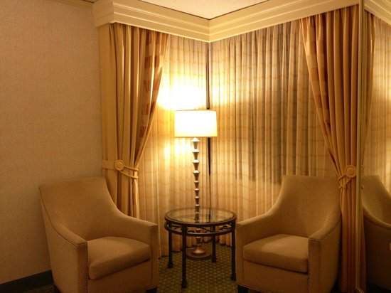 JW Marriott New Orleans: Cute furniture