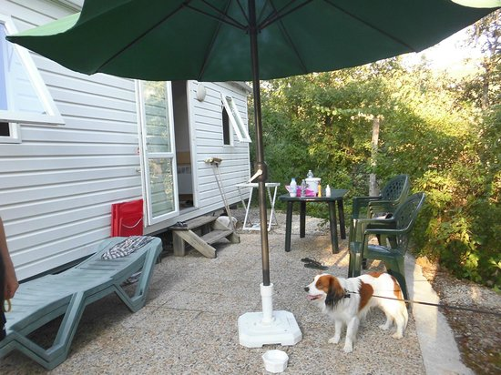 Domaine de la Sabliere : The mobilhome has everything you need.
