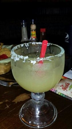 La Fiesta Mexican Restaurant: Great margarita