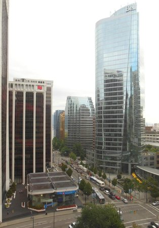 Hyatt Regency Vancouver: View from our window